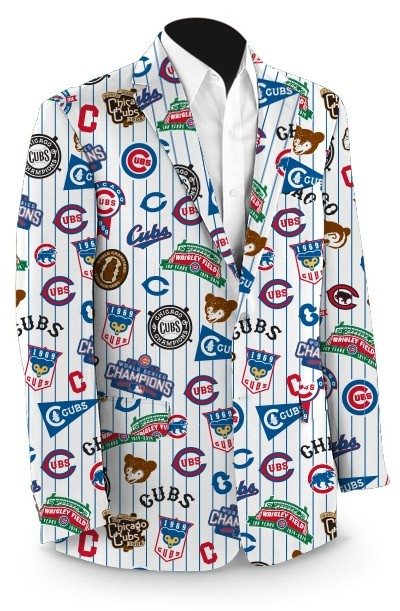 Cubs Retro StretchTech Men's Sport Coat MTO