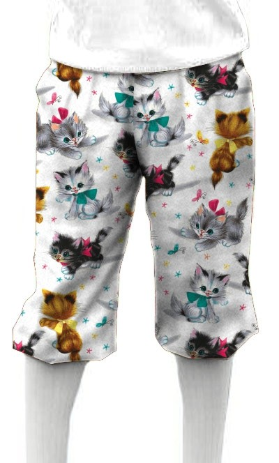 Cute Little Pussy Cats Knickerbockers MTO