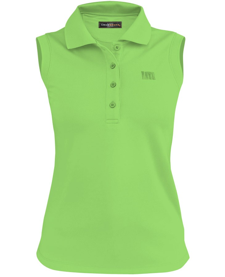 Women Essential Jasmine Green Sleeveless Shirt
