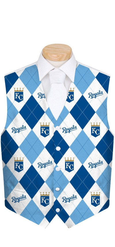 Royals Argyle Men's Vest MTO