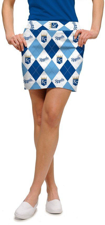 Royals Argyle Women's Skort/Skirt MTO