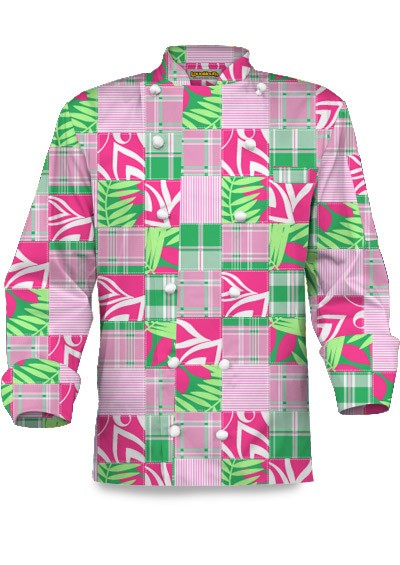 Mint Julep Chef Coat MTO