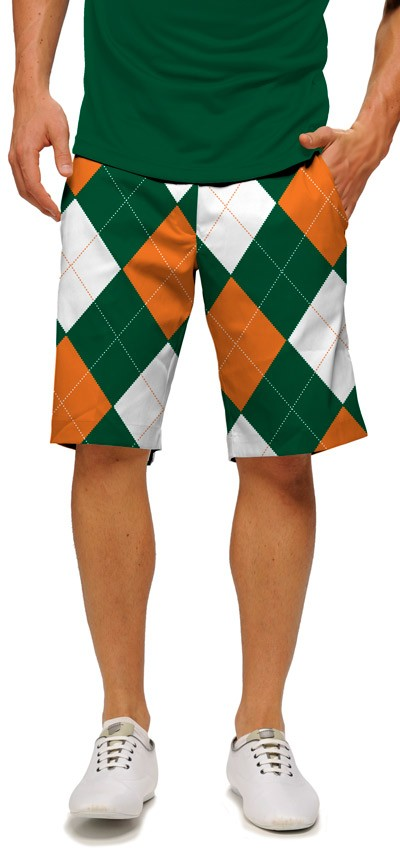 Orange & Green Men's Short MTO