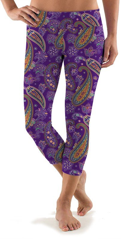 Pazeltine Active Capri Leggings