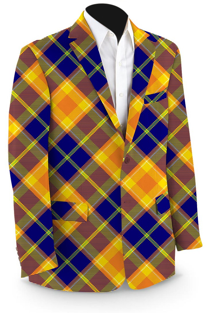 Peanut Butter & Jelly Men's Sport Coat MTO