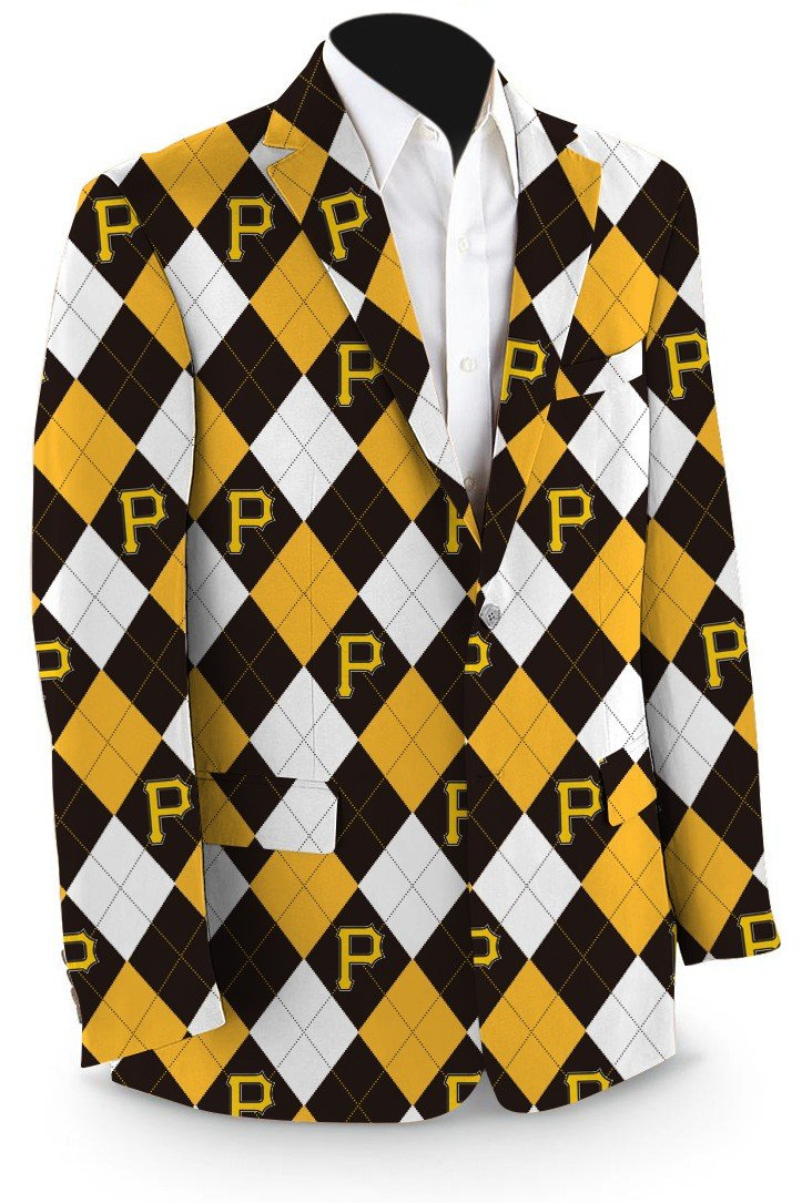 Pirates Argyle Men's Sport Coat MTO
