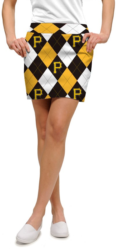 Pirates Argyle Women's Skort/Skirt MTO