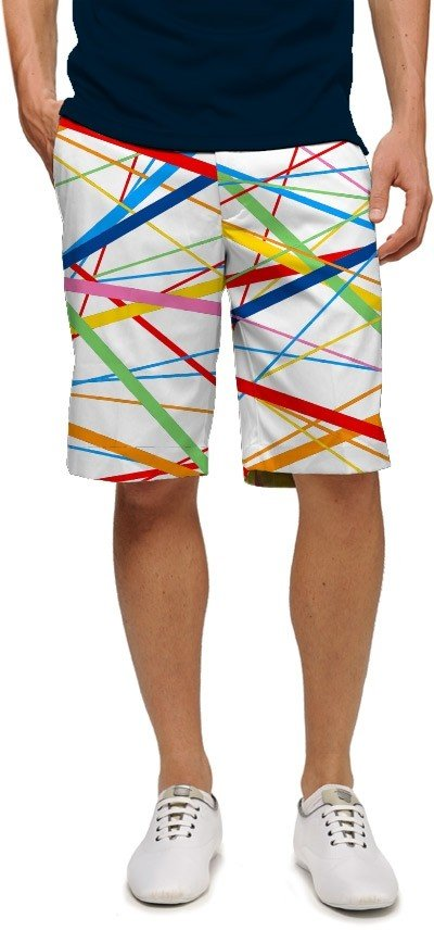 Stix White StretchTech Men's Short