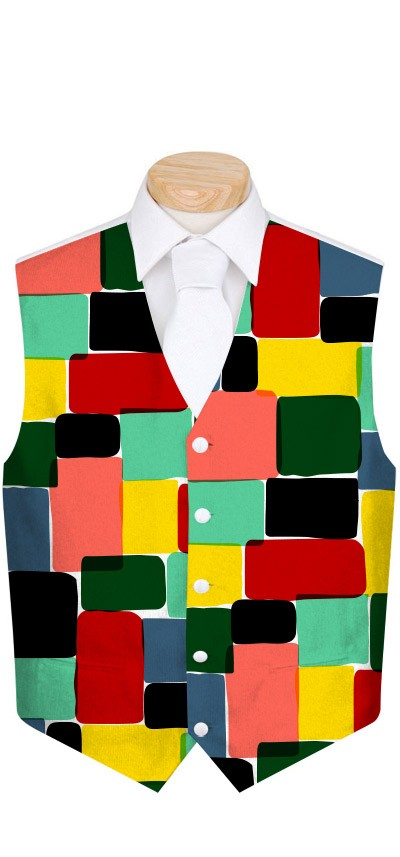 Technicolor Dream Men's Vest MTO