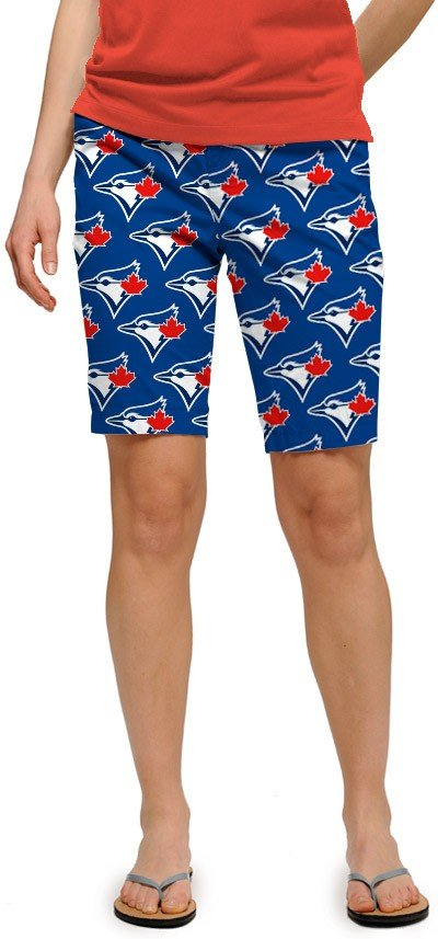 Blue Jays Solid Women's Bermuda Short