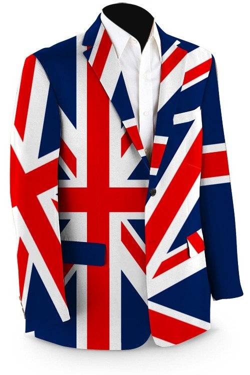 Union Jack Men's Sport Coat MTO