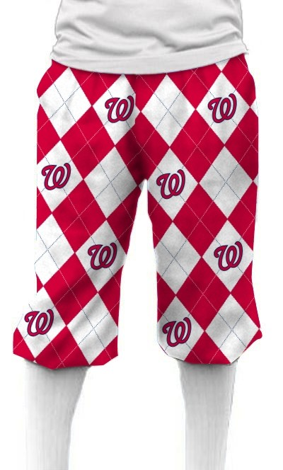 Nationals Argyle Knickerbockers MTO