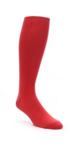 Fiery Red Knicker Socks