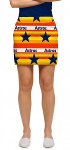 Astros Retro StretchTech Women's Skort/Skirt MTO