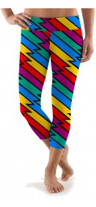 Captain Thunderbolt Capri Leggings