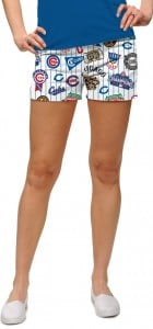 Cubs Retro StretchTech Women's Mini Short MTO