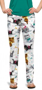 Cute Little Pussy Cats Women's Capri/Pant MTO