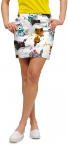 Cute Little Pussy Cats Women's Skort/Skirt MTO
