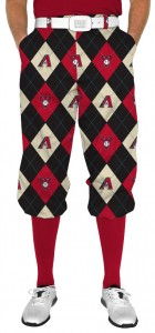 Diamondbacks Argyle StretchTech Knickerbockers MTO