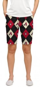 Diamondbacks Argyle StretchTech Women's Bermuda Short MTO