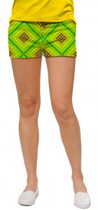 Dot Matrix Women's Mini Short MTO