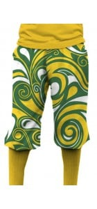 Green & Gold Splash Knickerbockers MTO
