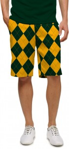 Hunter Green & Gold Mega Men's Short MTO
