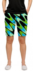Interference Aqua Women's Bermuda Short MTO
