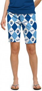 Royals Argyle Women's Bermuda Short MTO