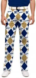 Brewers Argyle Men's Pant MTO