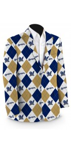 Brewers Argyle Men's Sport Coat MTO