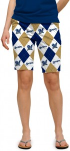 Brewers Argyle Women's Bermuda Short MTO