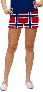 Norway Flag Women's Mini Short MTO
