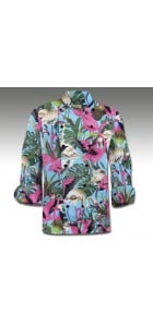 Pink Flamingos Chef Coat MTO