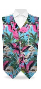 Pink Flamingos Men's Vest MTO