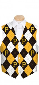 Pirates Argyle Men's Vest MTO