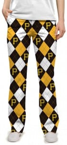Pirates Argyle Women's Capri/Pant MTO