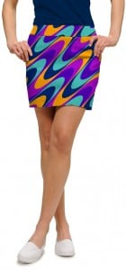 Razzberry Swirl StretchTech Women's Skort/Skirt MTO