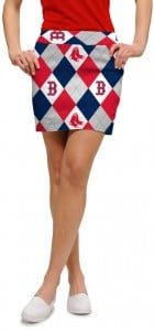 Red Sox Argyle Women's Skort/Skirt MTO