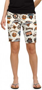 Giants Retro Women's Bermuda Short MTO