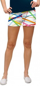 Stix White StretchTech Women's Mini Short MTO