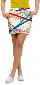 Stix White StretchTech Women's Skort/Skirt MTO
