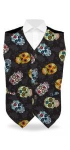 Sugar Skulls StretchTech Men's Vest MTO