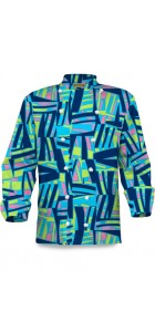 Tiki Bar Blue Chef Coat MTO