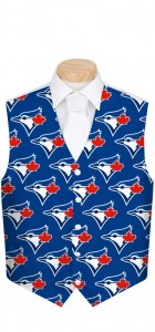Blue Jays Solid Men's Vest MTO