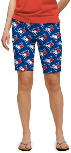 Blue Jays Solid Women's Bermuda Short MTO