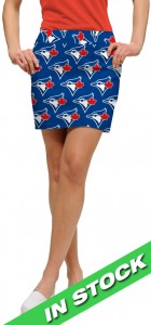 Blue Jays Solid Women's Skort