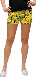 Shagadelic Yellow Women's Mini Short MTO