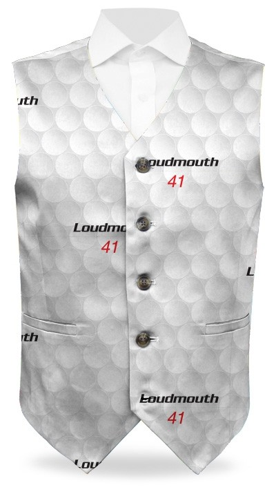Big Golf Ball StretchTech Men's Vest MTO