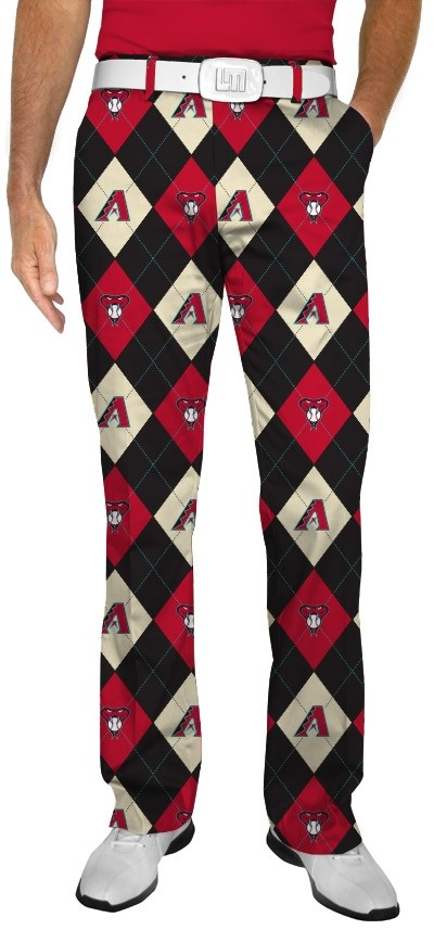 Diamondbacks Argyle StretchTech Men's Pant MTO